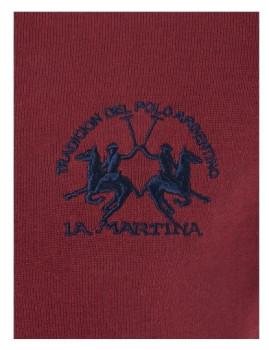 imagem de Cardigan La Martina Homem Bordeaux2