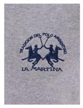 imagem de Cardigan La Martina Homem Cinza Mesclado2
