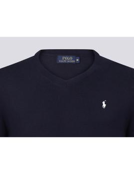 imagem de Camisola Homem Azul Navy/Branco3