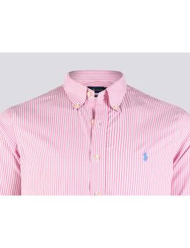 imagem de Camisa Homem Rosa/Branco3