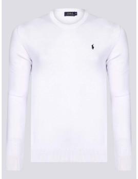 imagem de Camisola Homem Branco/Azul Navy1