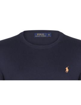 imagem de Camisola Ralph Lauren Homem Azul Navy/Laranja2