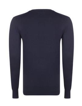 imagem de Camisola Homem Azul Navy/Branco4