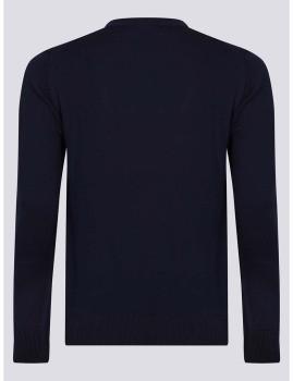 imagem de Camisola Homem Azul Navy/Vermelho2