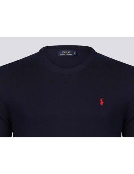 imagem de Camisola Homem Azul Navy/Vermelho3