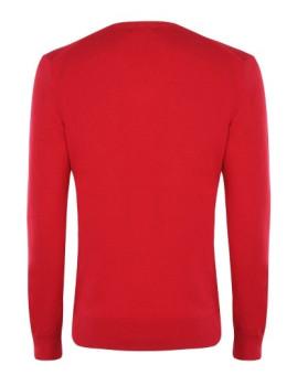 imagem de Pullover V Senhora Vermelho2