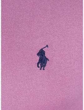 imagem de Pullover Decote em V Rosa e Azul Navy Homem Ralph Lauren2
