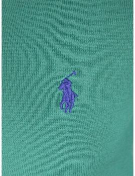 imagem de Pullover Decote em V Verde Homem3