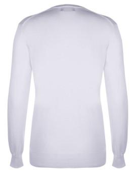 imagem de Pullover V Branco Senhora2