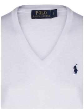 imagem de Pullover V Branco Senhora4