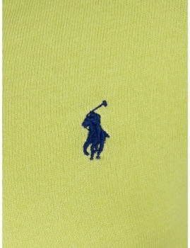 imagem de Pullover decote em V Verde Lima Homem3
