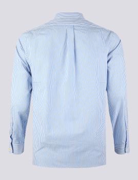 imagem de Camisa Homem Azul/Branco2