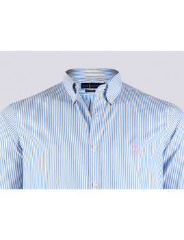 imagem de Camisa Homem Azul/Branco3