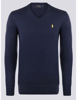 imagem de Camisola Homem Azul Navy/Amarelo1