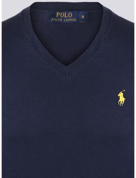imagem de Camisola Homem Azul Navy/Amarelo3