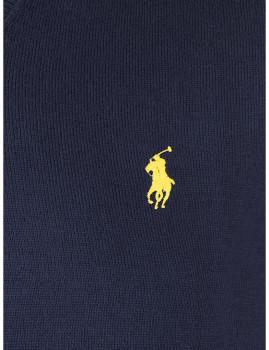 imagem de Camisola Homem Azul Navy/Amarelo4