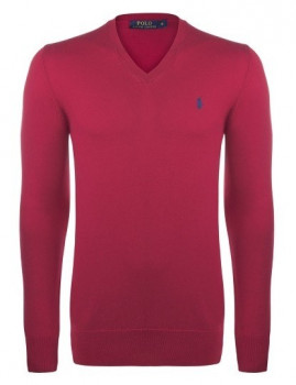 imagem de Pullover Vermelho e Azul Navy Homem Ralph lauren1