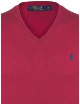 imagem de Pullover Vermelho e Azul Navy Homem Ralph lauren3