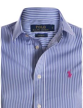 imagem de Camisa Senhora Azul/Branco3