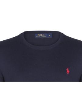 imagem de Camisola Ralph Lauren Homem Azul Navy/Vermelho2