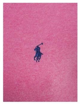 imagem de Pullover Decote em V Rosa Mesclado Homem Ralph Lauren2