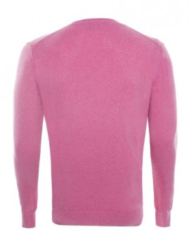 imagem de Pullover Decote em V Rosa Mesclado Homem Ralph Lauren4