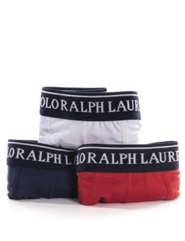 imagem de Pack 3 Boxers Ralph Lauren  Azul Marinho / Vermelho / Branco3