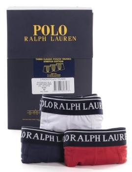 imagem de Pack 3 Boxers Ralph Lauren  Azul Marinho / Vermelho / Branco4