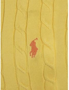 imagem de Pullover Com decote V De Senhora Amarelo2