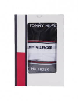 imagem de Pack 3 Boxers Tommy Hilfiger Homem Preto / Branco / Cinza2