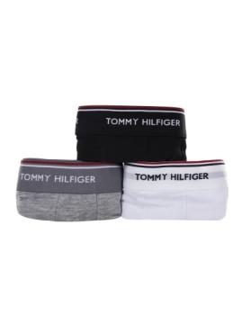 imagem de Pack 3 Boxers Tommy Hilfiger Homem Preto / Branco / Cinza4