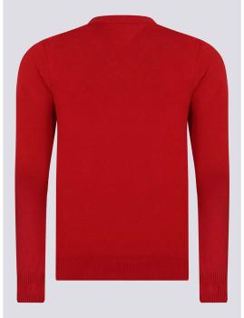 imagem de Camisola Homem Vermelho2