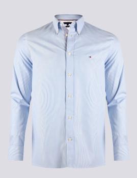 imagem de Camisa Homem Azul /Riscas Branco1