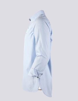 imagem de Camisa Homem Azul /Riscas Branco3