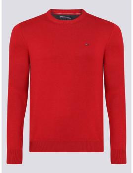 imagem de Camisola Decote redondo Homem Vermelho1