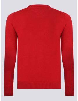 imagem de Camisola Decote redondo Homem Vermelho2