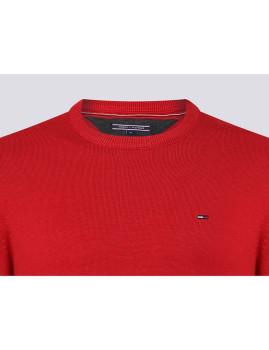 imagem de Camisola Decote redondo Homem Vermelho3