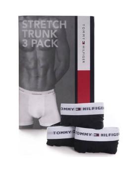 imagem de Pack 3 Boxers Tommy Hilfiger Homem Preto1