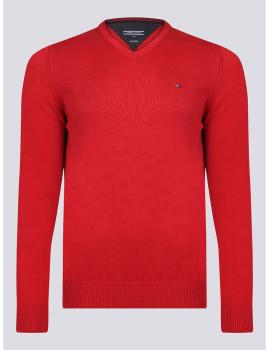 imagem de Camisola Homem Vermelho Lava1