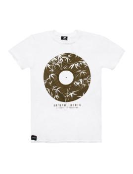 T-shirt Seventyseven Natural Beats Branco
