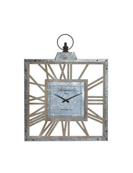 Relógio Parede Madeira Natural