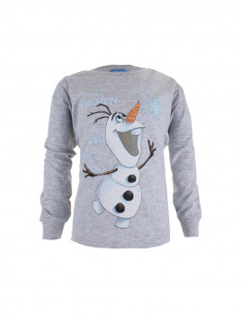 Camisola Disney Olaf Snowflake Criança Cinza