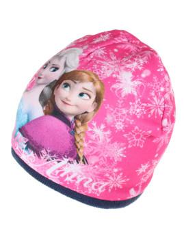 Gorro Disney Sisters Snowflake Criança Azul Marinho