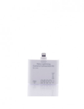 Adaptador  Ipad Air 1/2-Mini 1/2/3-Ipad 4 Branco