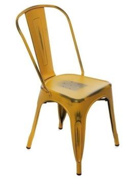 Cadeira Torok Brush Amarelo
