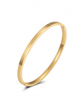 Pulseira Bangle basic Dourado 4mm