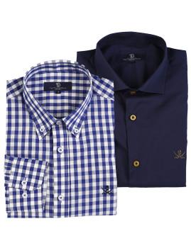 imagem de Pack Camisas Azul1