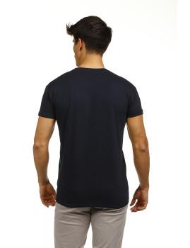 imagem de Pack T-Shirts Azul Marinho e Branco3