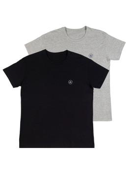 imagem de Pack T-Shirts Preto e Cinza1
