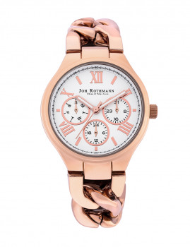 Relógio Joh Rothmann Senhora Annabell Rosa Dourado